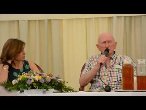 Szabó Gyuri bácsi és lánya nyilvános tanácsai - Gyógynövénynapok 2014 Bükkszentkereszt - 2/3