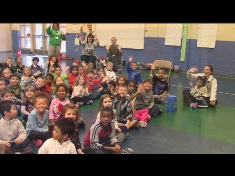 Weather 101 with Kindergarten Students at Fort Dorchester Elementary School