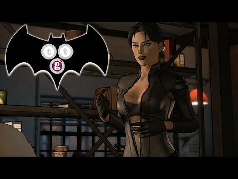 Catwoman striptease