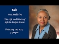 President's Women of Yale Lecture – Vera Wells '71 B.A. – The Life and Work of Sylvia Ardyn Boone