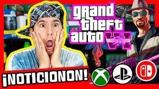 ¡¡¡ÚLTIMA HORA!!! ¡MÁS SOBRE GTA 6! ¡XBOX ANACONDA Y PS5! Noticias PS4, XBOX ONE Y SWITCH