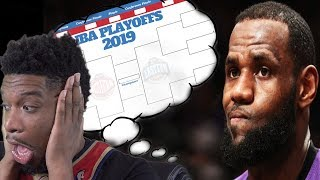 MY NBA PLAYOFF PREDICTIONS! LAKER NATION WATCH THIS FOR HOPE!!