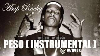 peso instrumental w hook asap rocky