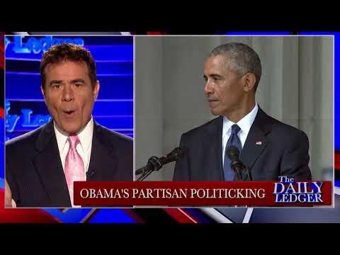 Obama's Partisan Politics (even at John McCain's funeral)