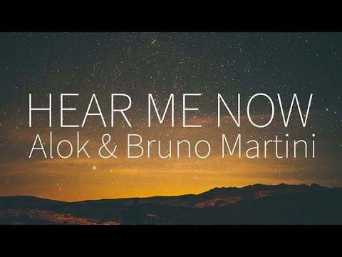 Alok Bruno Martini feat Zeeba  Hear Me Now