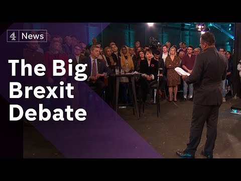 The Big Brexit Debate: What does the UK really think?