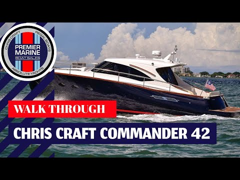 Chris Craft Commander 42