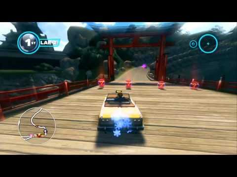 Sonic & All-Stars Racing Transformed (PS3): Seasonal Shrines - Expert - B.D. Joe
