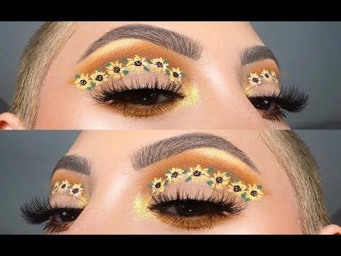 Sunflower Cut Crease 🌻