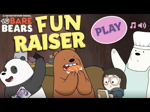 WE BARE BEARS - FUN RAISER [Cartoon Network Games]
