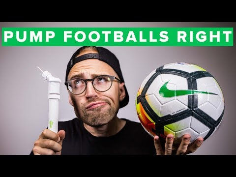 HOW TO PUMP YOUR FOOTBALL - Get The Right Ball Pressure | Unisport Uncut 43