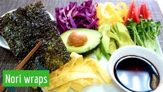 How to make Veggie Nori Wraps