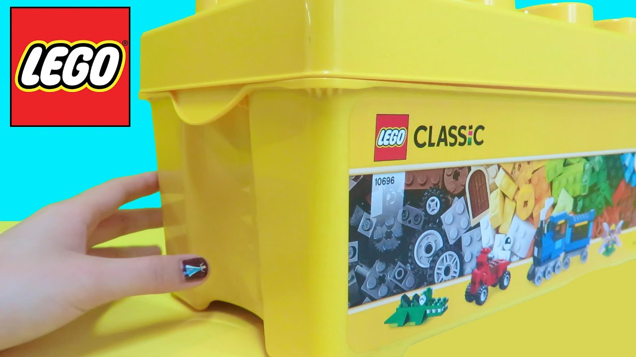 Lego Classic 2015 Unboxing 10696 - Medium Creative Brick ...