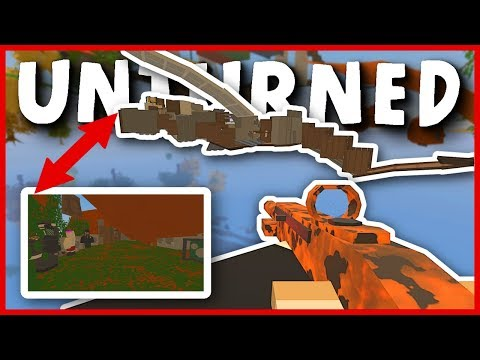 "UNDERGROUND ADMIN GLITCH BASE RAID! ""DO NOT RAID ADMIN'S BASE"" (Unturned Base Raids)"