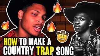 How to Write a Country Trap Song in 10 mIns
