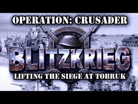 """Blitzkrieg. Allied Campaign. Mission 4 """"Lifting the Siege at Tobruk"""""""