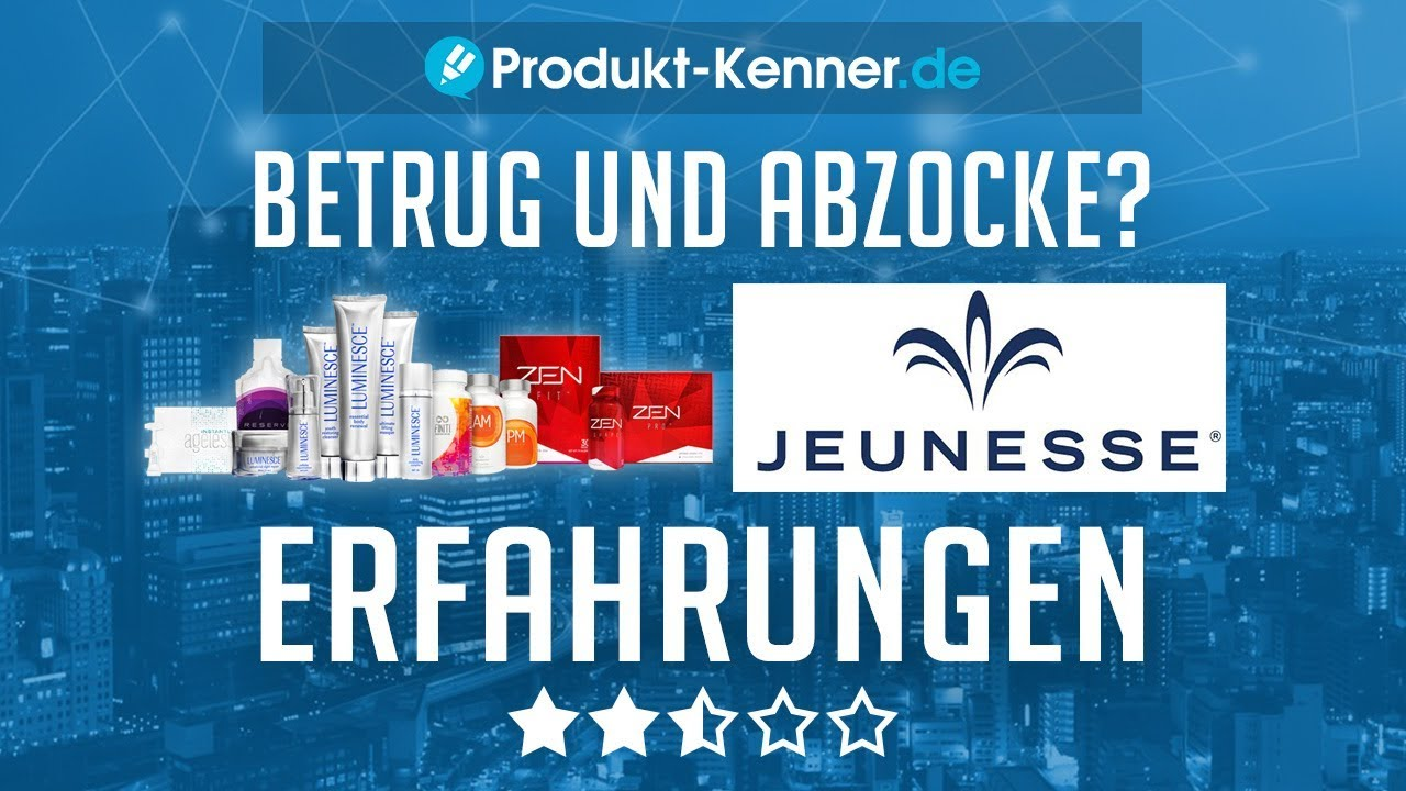 JeuneГџe Produkte Erfahrungen