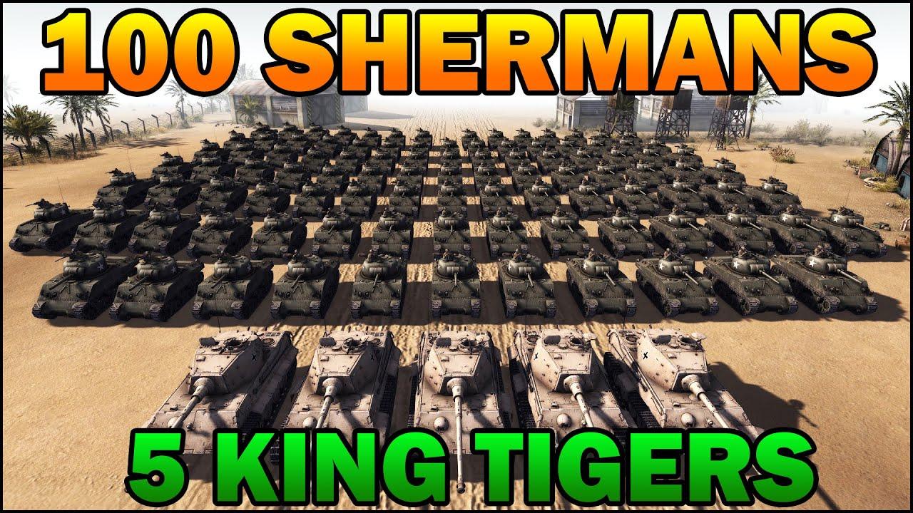King tiger tank vs sherman - photo#27