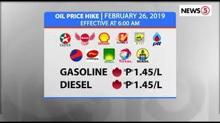 OIL PRICE HIKE | February 26, 2019
