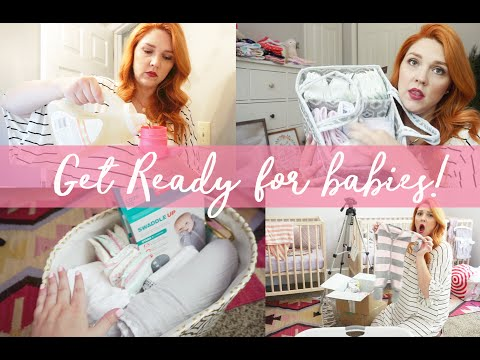 PREPARING FOR BABY | NESTING & ORGANIZING