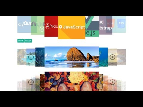 Wheel Carousel Slide with jQuery - YouTube