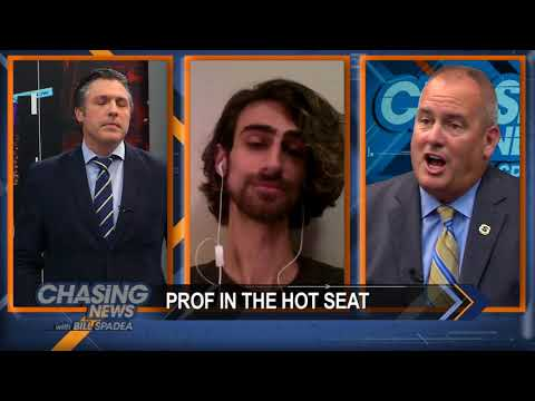 Professor In The Hot Seat