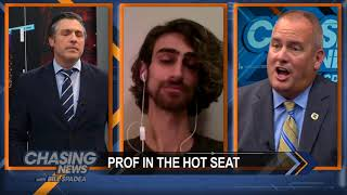 Professor In The Hot Seat