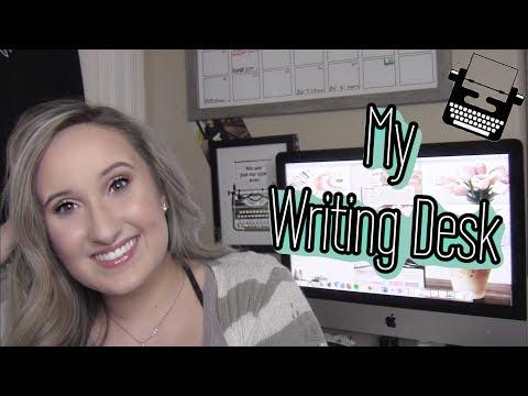 My Writing Desk Tour