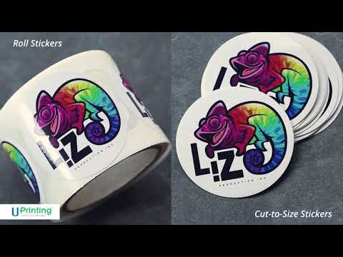 Cut-to-Size Stickers vs Roll Stickers | UPrintng.com