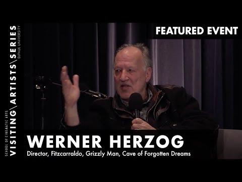 Werner Herzog discussing