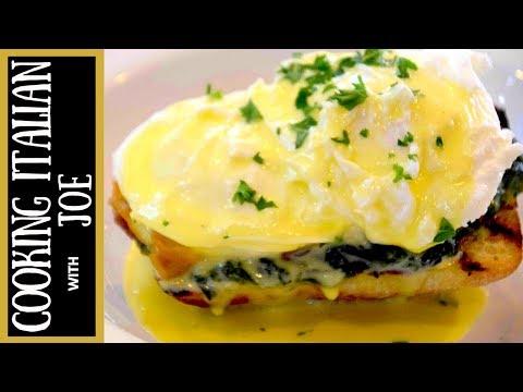 How to make Eggs Benedict Italian Style Cooking Italian with Joe
