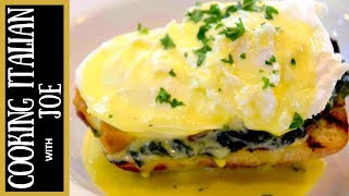 How to make Eggs Benedict Italian Style Cooking Italian with Joe