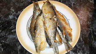 Как правильно и проcто по жарить рыбу на сковороде.