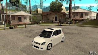 Maruti Suzuki Swift Car in Gta San Andreas