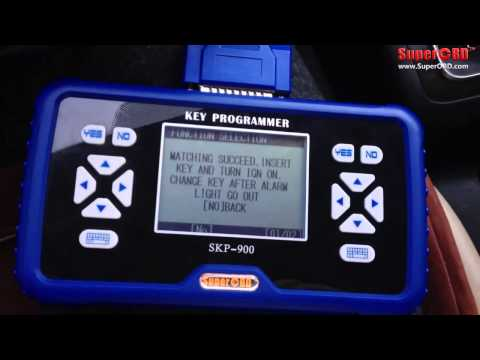 Skp 900 Read Pin Code And Program Key For Hyundai Elan
