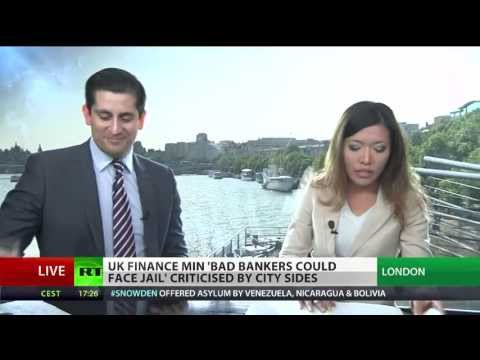 Jail For Reckless Bankers | Alessio Rastani Speaks on RT