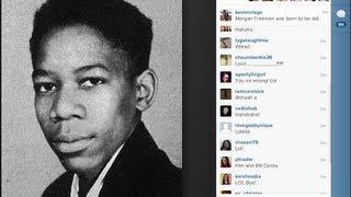 Morgan Freeman was born OLD!!