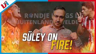 Rondje Langs De Buitenlandse Velden PRIMEUR: Süley Maakt Woordgrap 😂⚽ (En Lacht Er Zelf Om)
