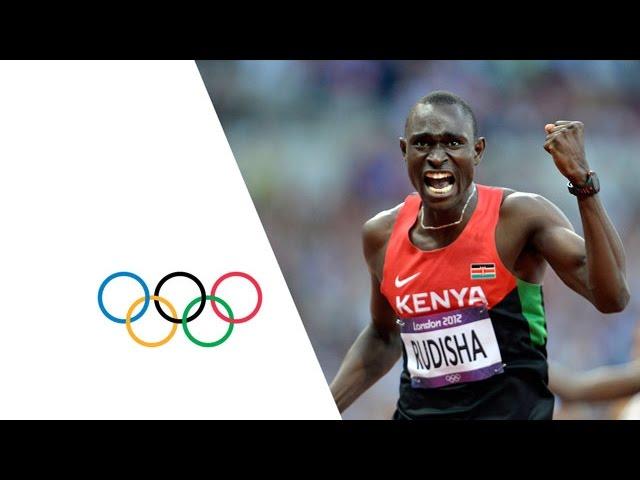 Rudisha Breaks World Record - Men's 800m Final   London 2012 Olympics