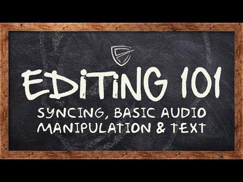 Alastor: EDITING 101 (Syncing, Basic Audio Manipulation & Text) #ObeyRC