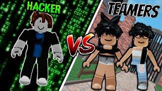 [MM2] Hacker Vs Teamers...(Murder Mystery 2) | Roblox