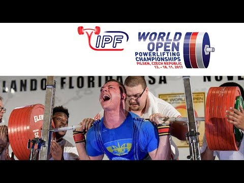 Men, 93 kg - World Open Powerlifting Championships 2017