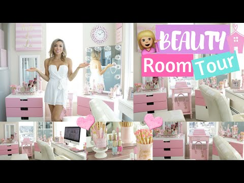 BEAUTY ROOM TOUR 2016💟💜💖- SLMissGlam👑💕