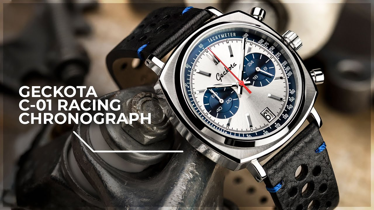 The new racing chronograph by geckota youtube for Geckota watches