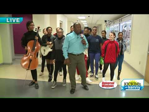 Kenny Visits Cleveland School of the Arts