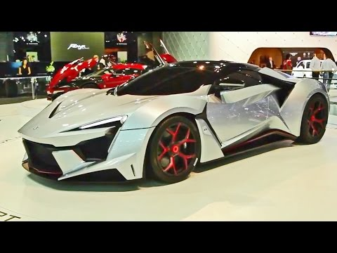 ► Fenyr SuperSport - World Premiere at Dubai Motor Show 2015