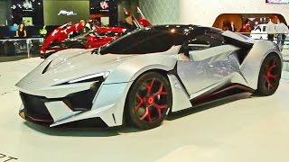 ► Fenyr SuperSport - World Premiere at Dubai Motor Show 2015