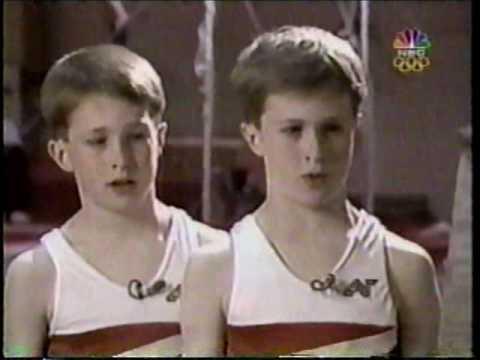 US Gymnasts Paul and Morgan Hamm Fluff