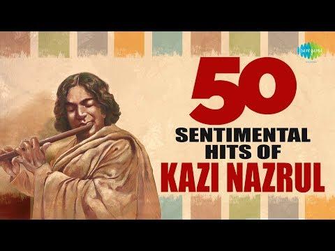 Top 50 Sentimental Songs Of Nazrul   নজরুল টপ ৫০ গান   Audio Jukebox