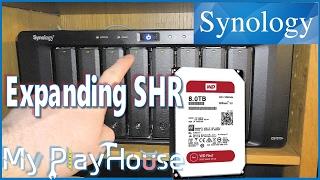 Expanding SHR Raid - Synology 1815+ new WD 8TB RED - 474